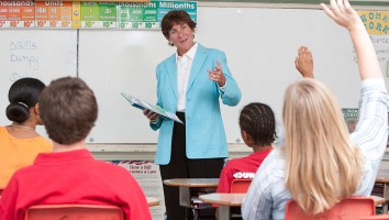 Pricey Harrison works for great education in North Carolina